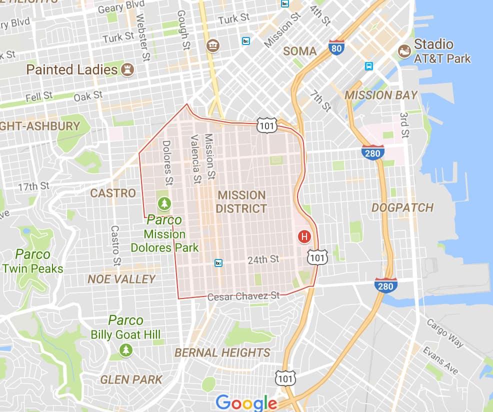 dove dormire a San Francisco quartieri