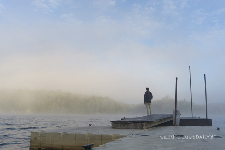 adirondacks, long view lake