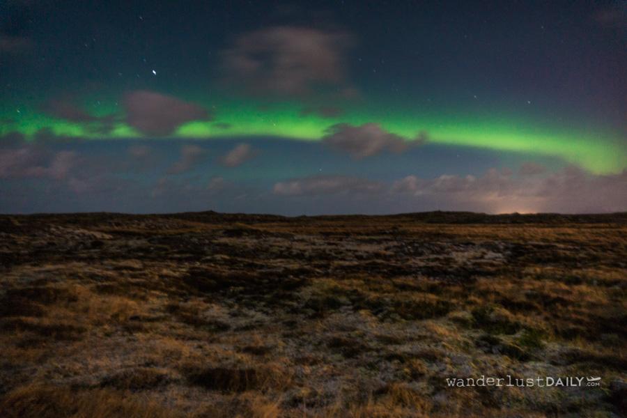 viaggio in islanda senza macchina: aurora boreale