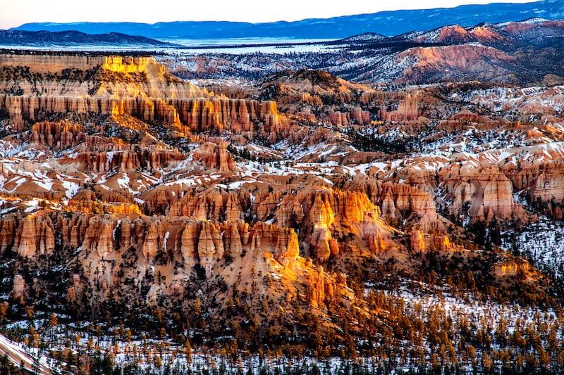 bryce canyon inverno
