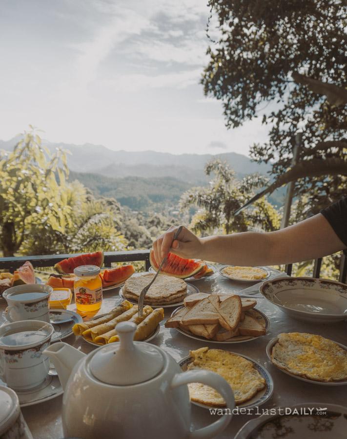 colazione al broad view a Ella
