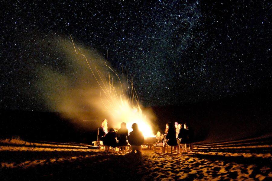 notte nel deserto in marocco